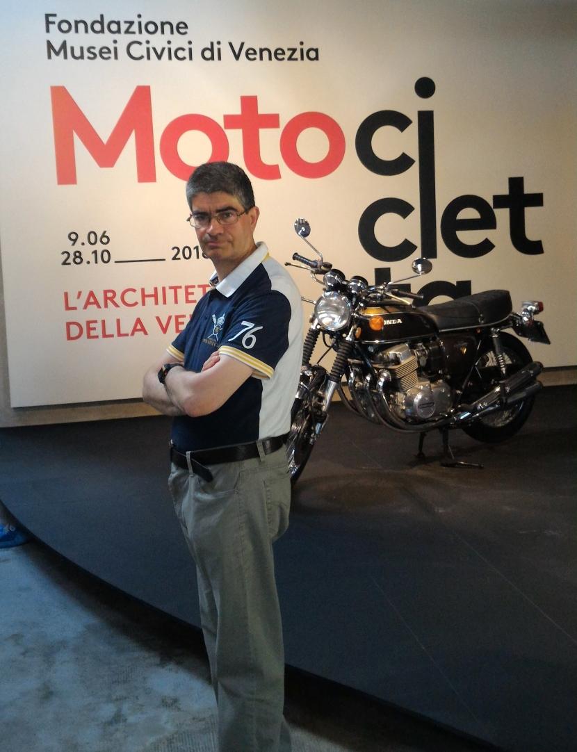Mostra di moto a Forte Marghera