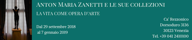 Anton Maria Zanetti e le sue collezioni banner