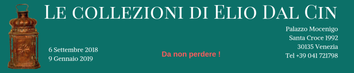 Le collezioni di Elio Dal Cin banner